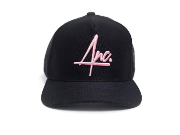 BONE ANCORADOS BASEBALL TRUCKER PRETO
