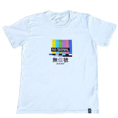 Camiseta Scrappy No Signal - Branca