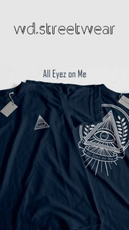 Camiseta WD All Eyez On Me