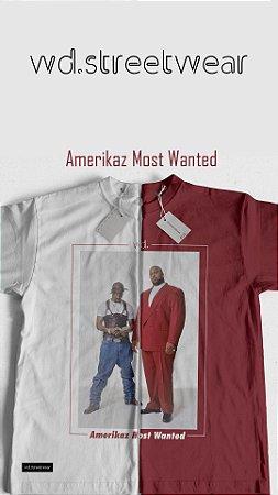 Camiseta WD Amerikaz Most Wanted