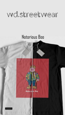 Camiseta WD Notorious Boo