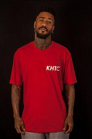 Camiseta Khaotic Logo Vermelha