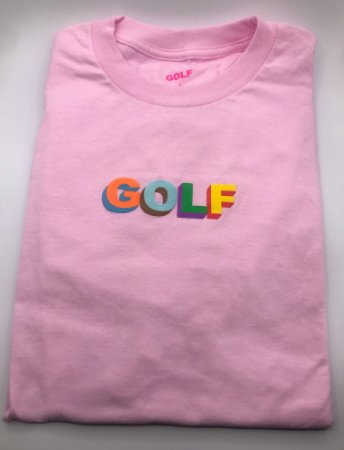 Camiseta GOLF Wang 3D Multi Color Pink - (LARGE)