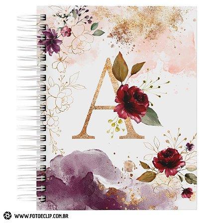 Caderno Alfabeto Feminino e Caneca Alfabeto Feminino