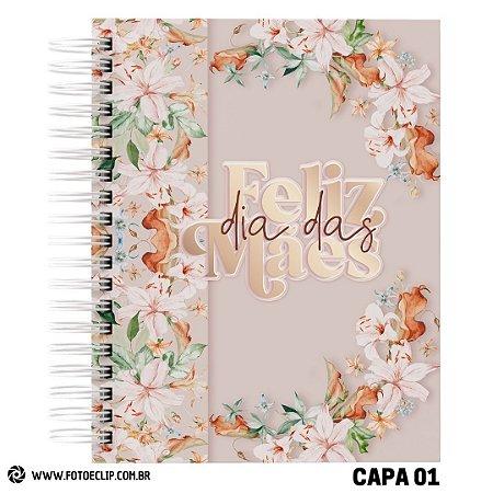 Caderno de Receitas Dia das Mães