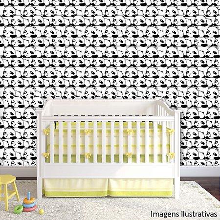 Papel de Parede Infantil Ursinhos Texturizado Autocolante