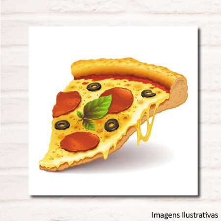 Quadro Decorativo Pizza