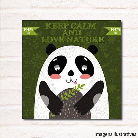 Quadro Infantil Panda