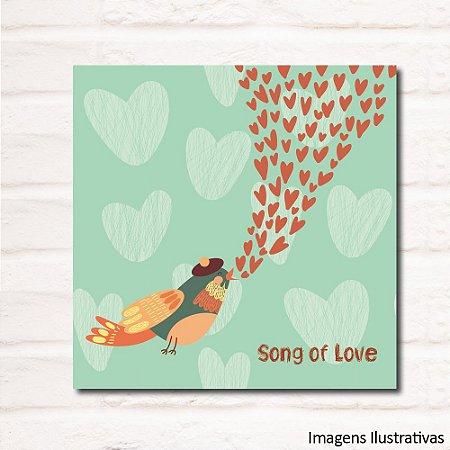Quadro Infantil Song Of Love