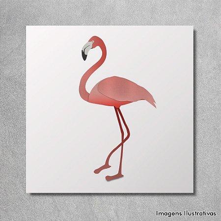 Quadro Decorativo Flamingo
