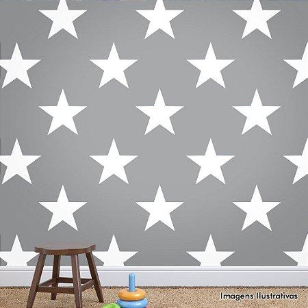 Papel de Parede Texturizado Autocolante Estrelas