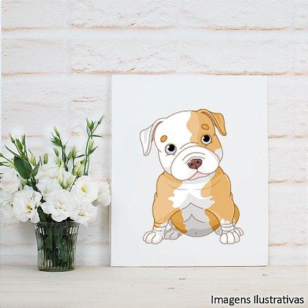 Quadro Decorativo Cãozinho