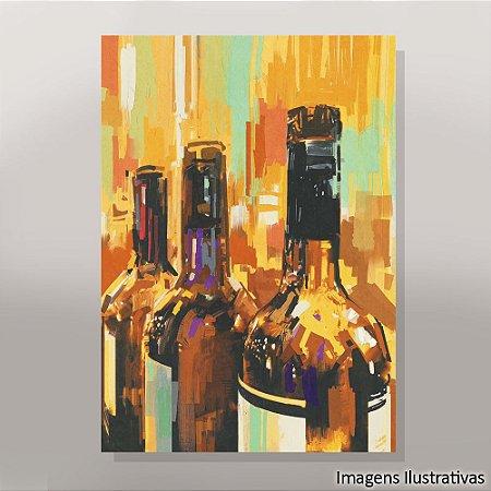 Quadro Decorativo Bebidas