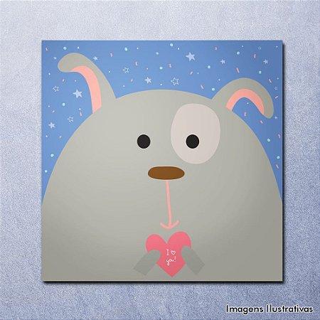Quadro Decorativo Infantil Cachorrinho
