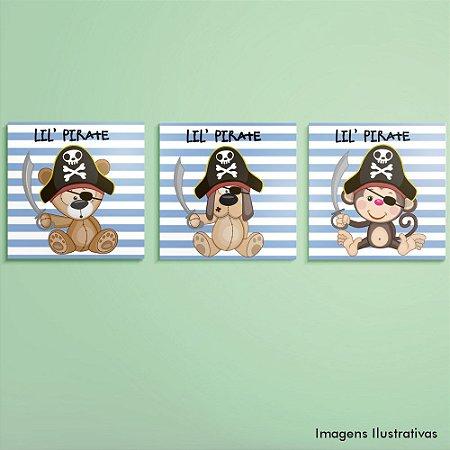 Kit de Quadros Infantil Piratas