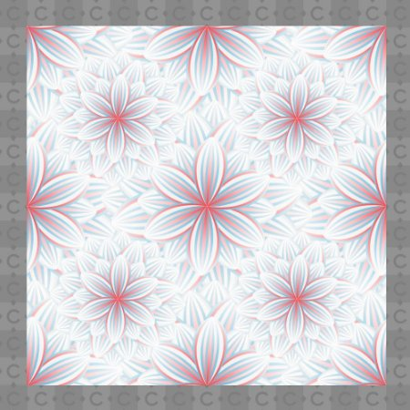 Papel de Parede Texturizado Autocolante Floral Branco e Rosa