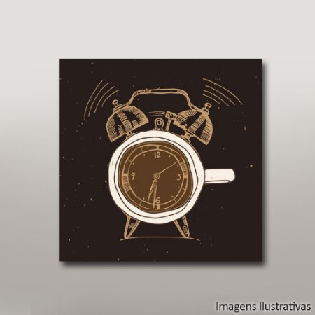 Quadro Decorativo Hora do Café