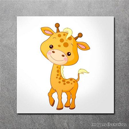 Quadro Decorativo Infantil Girafinha