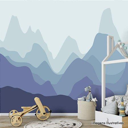 Painel de Parede Para Quarto Infantil Montanhas