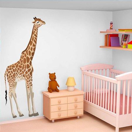 Adesivo de Parede Infantil Girafa