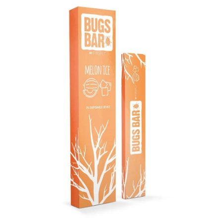 Pod Descartavel Firefly Bugs Bar 600 Puffs - Melon Ice