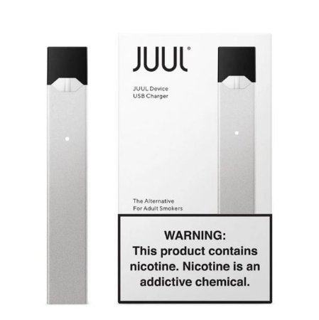Pod System Juul Device - Silver
