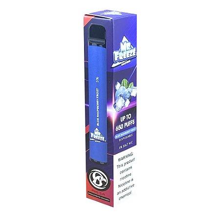 Pod Descartável Mr Freeze 650 Puffs - Blue Raspberry Frost