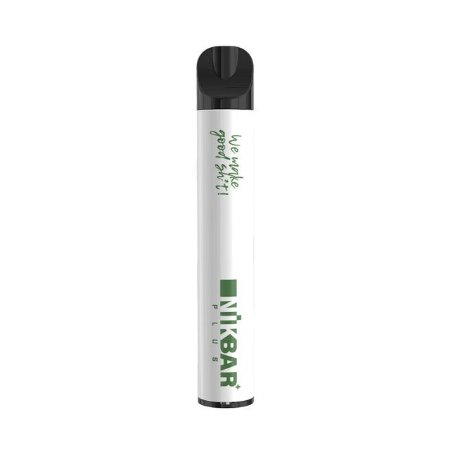 Pod Descartável NikBar 600 Puffs - Green Apple Ice