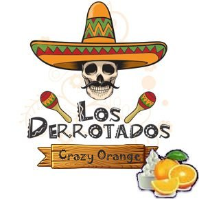 Juice Los Derrotados - Crazy Orange (30ml/0mg)