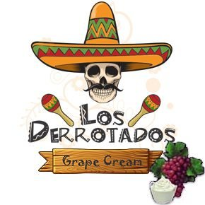 Juice Los Derrotados - Grape Cream (30ml/0mg)