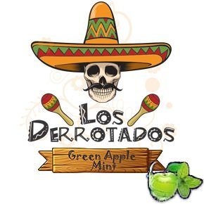 Juice Los Derrotados - Green Apple Mint (30ml/0mg)