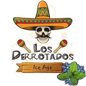 Juice Los Derrotados - Ice Age (10ml/0mg)