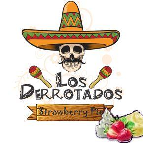 Juice Los Derrotados - Strawberry Pie (30ml/0mg)