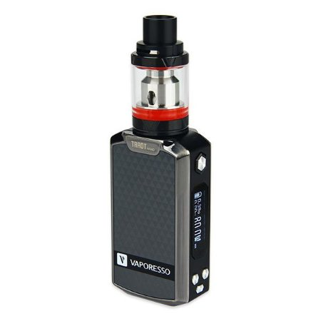 Vape Kit Vaporesso Tarot Nano - Metallic Grey and Red Tank