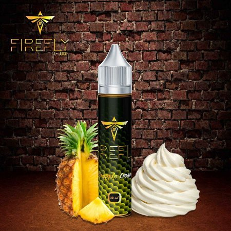 Juice Firefly - Pineapple Cream (30ml)