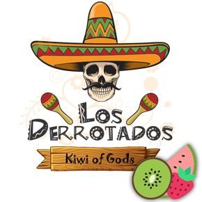 Juice Los Derrotados - Kiwi of Gods (30ml/0mg)