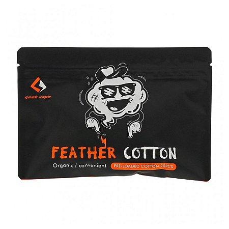 Algodão Geek Vape Feather Cotton 20pcs