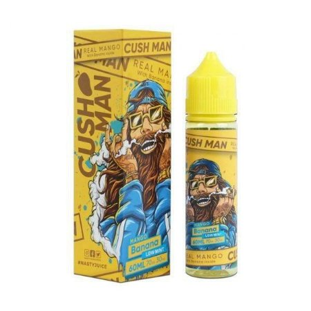 Juice Nasty Cush Man Mango Banana (60ml/3mg)
