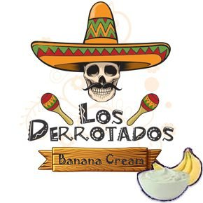 Juice Los Derrotados - Banana Cream (30ml/3mg)
