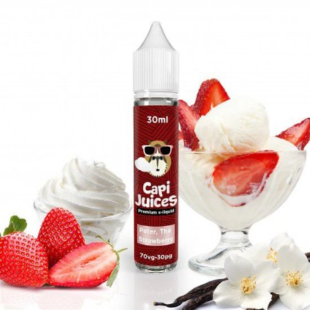 Juice Capijuice Peter, The Strawberry (30ml/0mg)