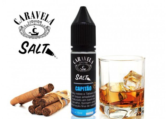 Juice Caravela Salt Capitão (15ml/35mg)