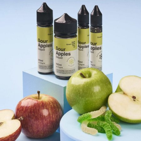 Juice Dream Collab Sour Apples (30ml/6mg)