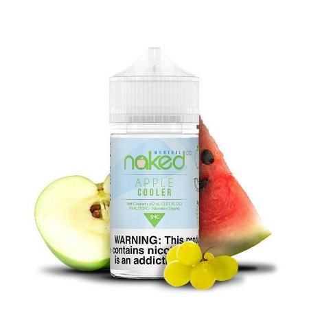 Juice Naked Apple Cooler (60ml/3mg)
