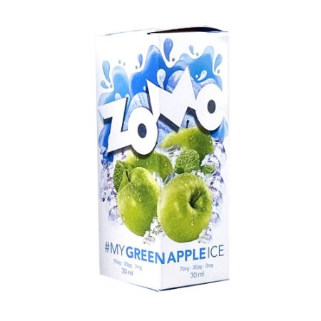 Juice Zomo Green Apple Ice (30ml/3mg)