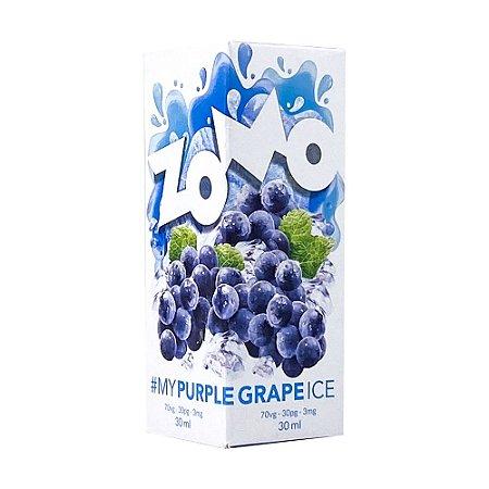 Juice Zomo Purple Grape Ice (30ml/3mg)