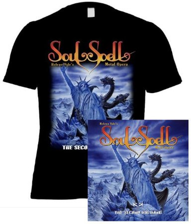 KIT CD + CAMISETA SOULSPELL ACT IV