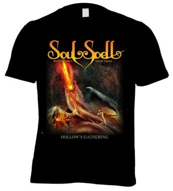 CAMISETA SOULSPELL ACT III - HOLLOW'S GATHERING