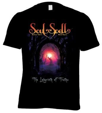 CAMISETA SOULSPELL ACT II - THE LABYRINTH OF TRUTHS
