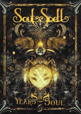 SHOW AO VIVO - X Years Of Soul (DVD - Mídia Pendrive) (Frete Grátis)