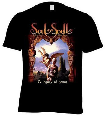 CAMISETA SOULSPELL ACT I - A LEGACY OF HONOR